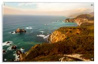 California Pacific Coast Road Trip 0579, Acrylic Print
