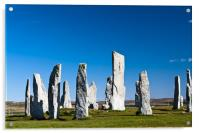 The Callanish standing stones, Acrylic Print