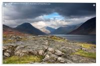 The Peaks of Wastwater, Acrylic Print