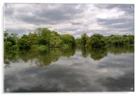 Little Britain Lake Cowley, Acrylic Print