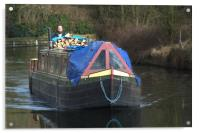 Narrowboat, Acrylic Print