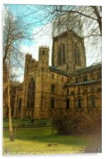 The City of Durham Cathedral , Acrylic Print