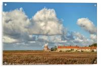 Cley Windmill Standing Proud, Acrylic Print