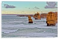 The Twelve Apostles Great Ocean Road Victoria, Acrylic Print
