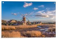 Cley next the Sea  Norfolk - A Bright Spring Day, Acrylic Print