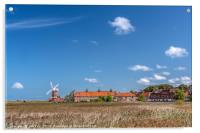 Cley next the Sea  Norfolk, Acrylic Print