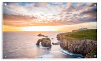 Sunset at Lands End, Acrylic Print