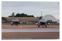 Pair of Vipers on the taxiway, Acrylic Print