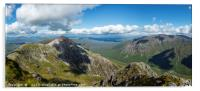 Buachaille Etive Mor, looking towards Stob Dearg., Acrylic Print