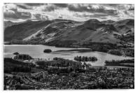 Derwent Water from Le Trigg, Acrylic Print