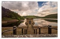 Down to the dam - Ladybower Reservoir, Acrylic Print
