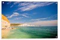 Seven Sisters Country Park, Acrylic Print