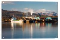 Industry at Fort William, Acrylic Print