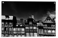 Crooked Rennes, Acrylic Print