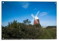 The Windmill at Halnaker, Acrylic Print