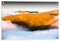 The mists of time., Acrylic Print