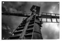 My Windmill is a monster, Acrylic Print