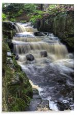 Lumsdale Valley Falls, Acrylic Print