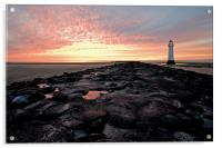 New Brighton on The Wirral, Acrylic Print