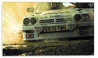 Opel Manta up close and personal, Acrylic Print