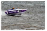 F1 Powerboat Championships 2011, Acrylic Print