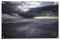 THE APPROACHING STORM, Acrylic Print