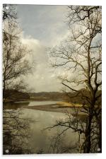 The Hamble from Curbrudge, Acrylic Print
