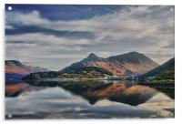 The Pap of Glencoe Scotland, Acrylic Print