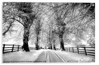 A Cold Winters Day, Acrylic Print