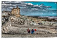 Withernsea Beach, Acrylic Print