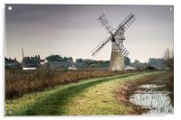 Thurne Mill, Acrylic Print