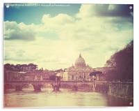 St Peters by Day, Acrylic Print