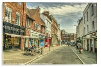 Tiverton Fore St , Acrylic Print