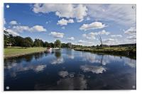 Reflecting Times on the Norfolk Broads, Acrylic Print