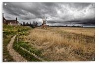 Path to Cley, Acrylic Print