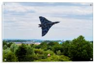 Vulcan Bomber EPIC take off RIAT 2015, Acrylic Print