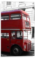 The Old Red Bus, Acrylic Print