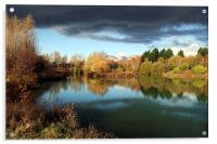 Dinton Pastures Country Park, Acrylic Print