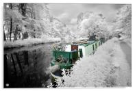 Kennet and Avon, Acrylic Print