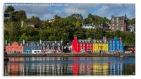 Colourful Tobermory, Acrylic Print