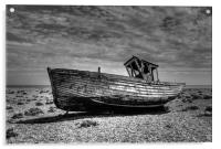 Dungeness Boat Days gone By, Acrylic Print