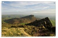 The Roaches and Hen Cloud, Acrylic Print