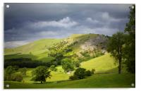 Bunster Hill Dovedale, Acrylic Print