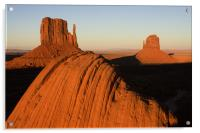 Monument valley sunset, Acrylic Print