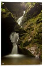 St.Nectans Waterfall, Acrylic Print