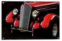 1937 Plymouth Coupe, Acrylic Print