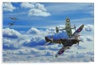 Battle in the Skies, Acrylic Print