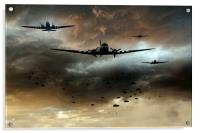 Normandy Invasion, Acrylic Print
