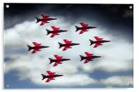 9 Ship Gnats, Acrylic Print