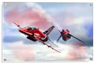 Red Arrows Pass , Acrylic Print
